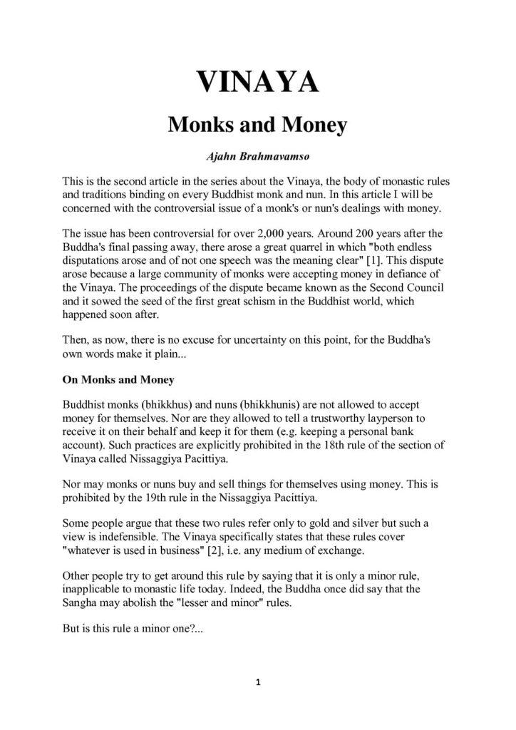Ajahn_Brahmavamso_Vinaya_Monks&Money