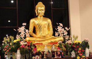 Dhammaloka Buddha rupa
