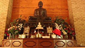 shrine at Bodhinyana