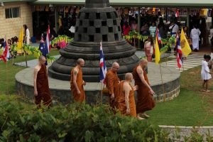 monks at Jhana Grove