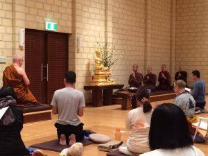 meditation retreat at Jhana Grove