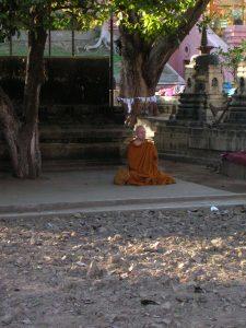Ajahn Brahm in Bodh Gaya
