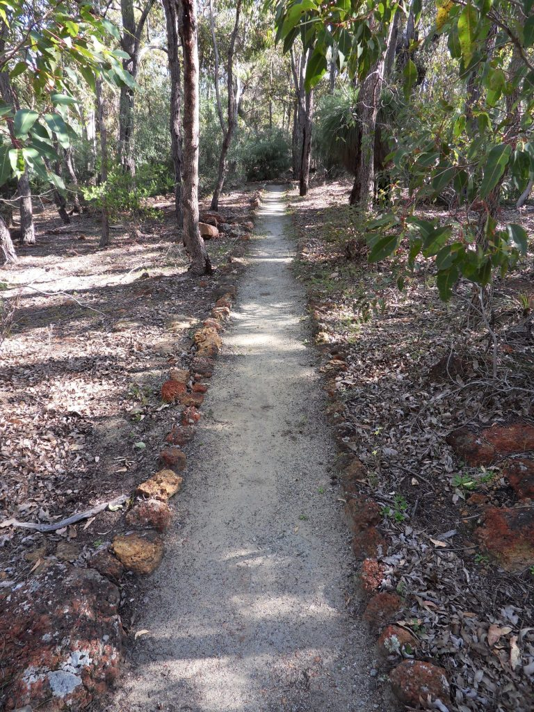 Bodhinyana walking path