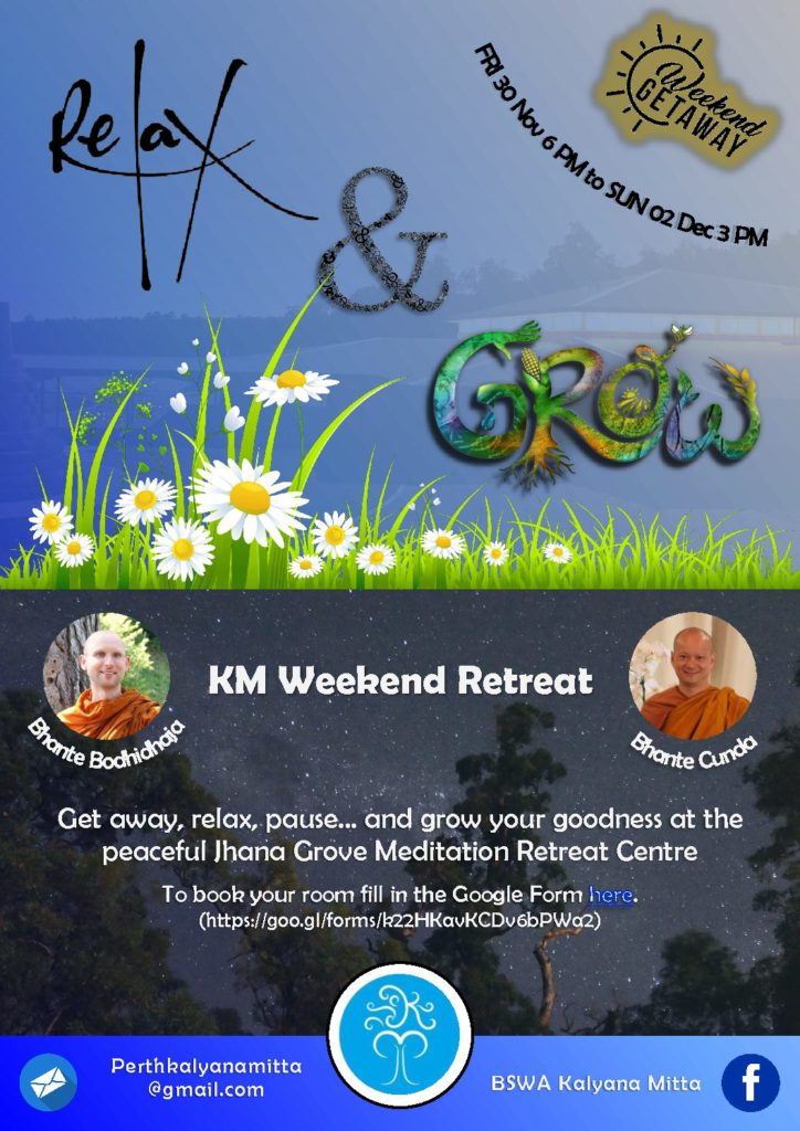 KM WE-Retreat @ JG Nov-Dec 2018 (for digital sharing)