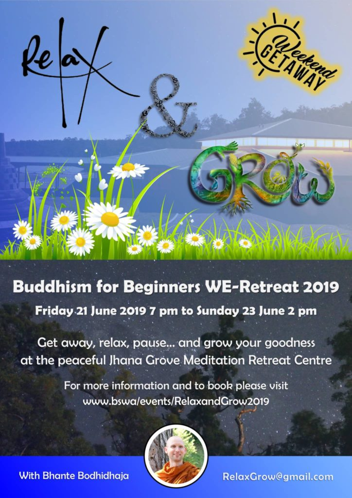 Relax & Grow WE-Retreat 2019 (Poster)