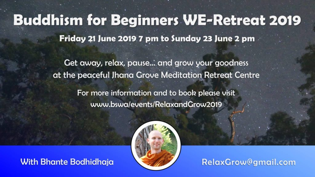 Relax & Grow WE-Retreat 2019 (Poster) – Meetup Page 2