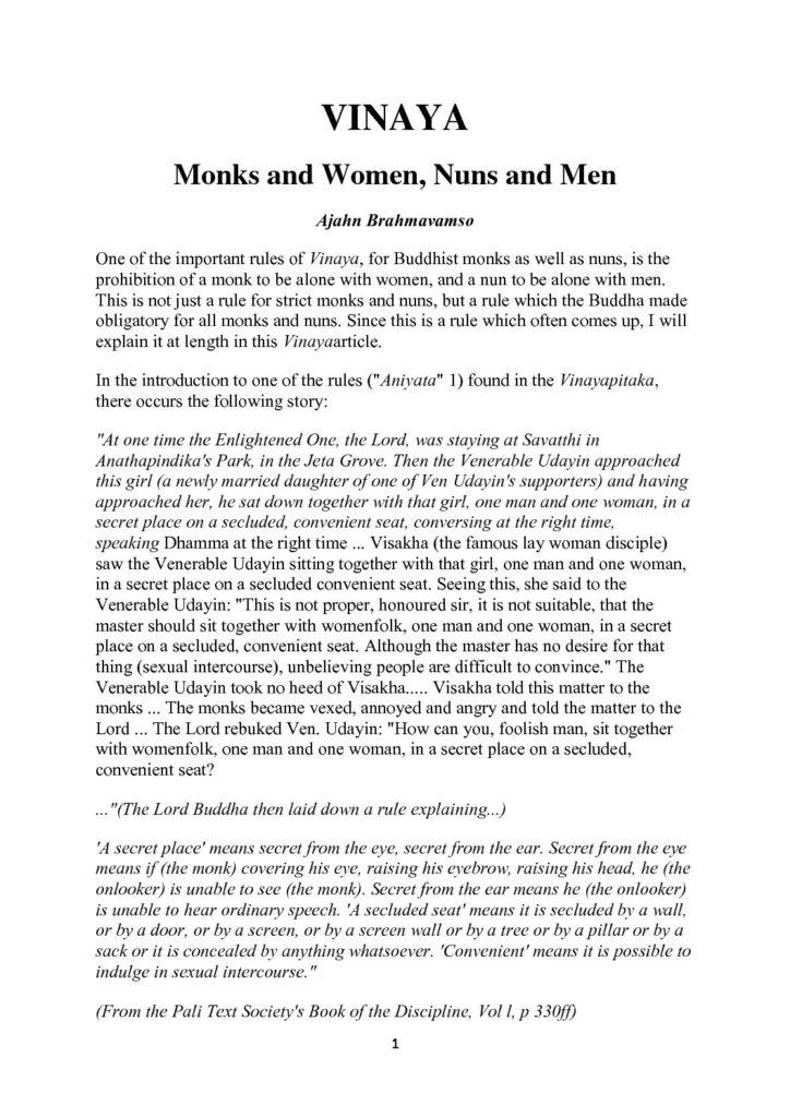 Ajahn_Brahmavamso_Vinaya_Monks&Women_Nuns&Men