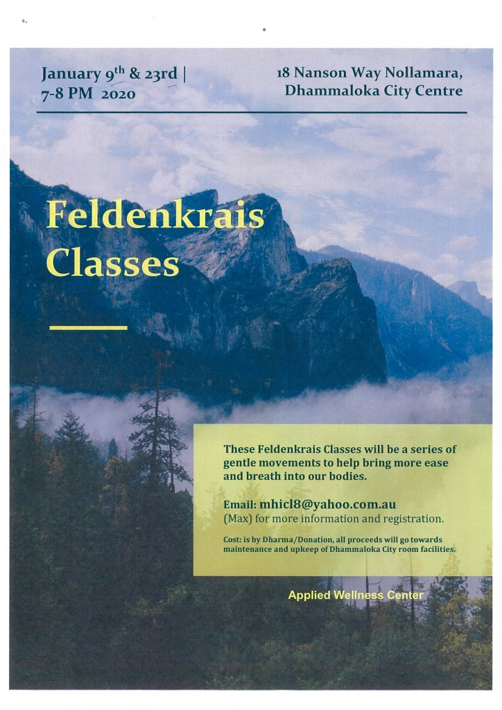 Feldenkrais Classes