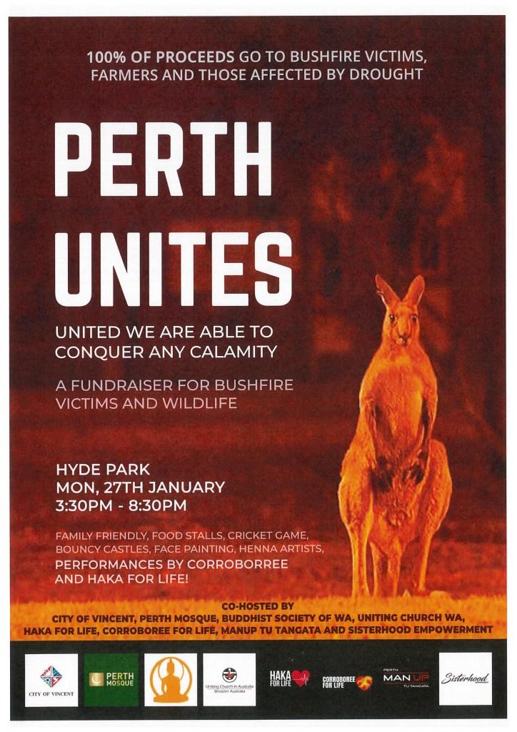 Perth Unites Fundraiser 270120