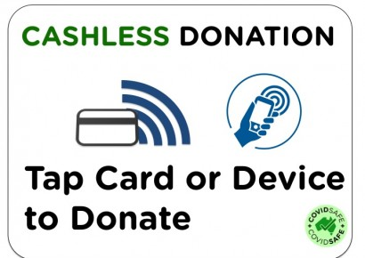 Cashless Donation Terminals