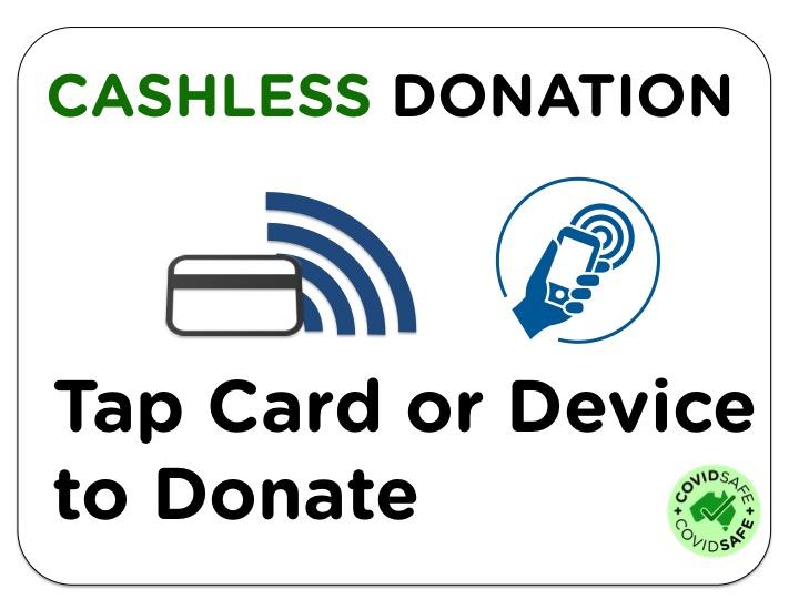 Cashless Donation Terminals